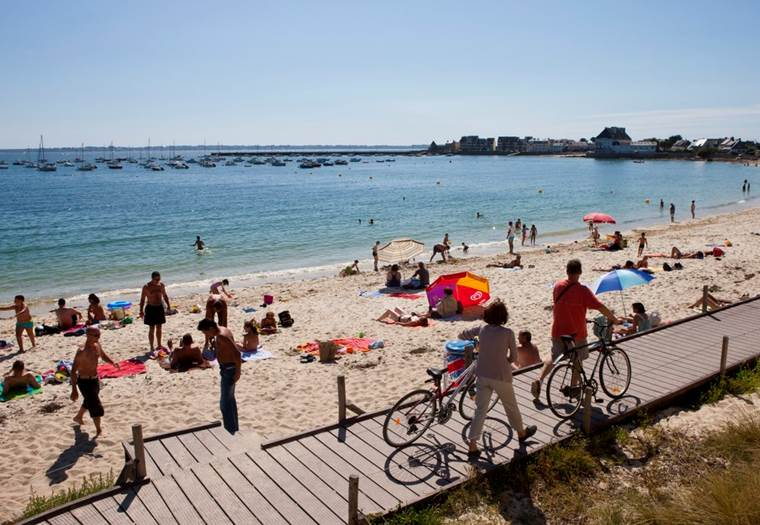 plage-anse-du-stole-ploemeur-Lorient-Morbihan-Bretagne-sud © Galivel